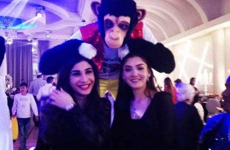 קופים לאירועים ולמסיבות